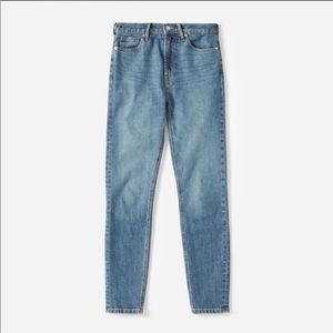 The High-Rise Skinny Jean Mid Blue